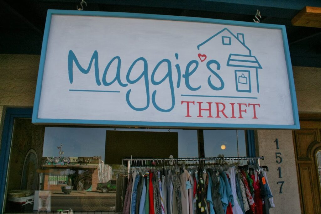 Image of Maggie's Thrift storefront